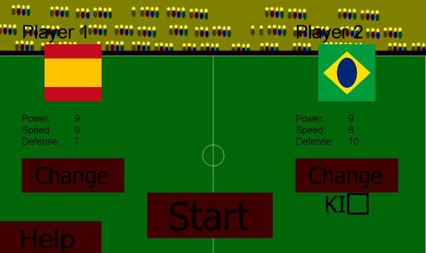 FootballPong 14 apk screenshot