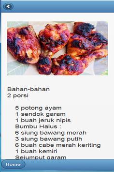 Aneka Resep Ayam Panggang screenshot 5