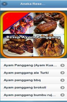 Aneka Resep Ayam Panggang screenshot 9