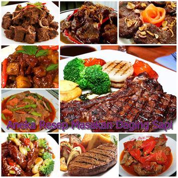 Resep Masakan Daging Sapi poster