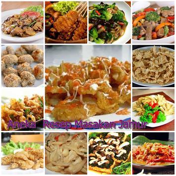 Aneka Resep Masakan Jamur apk screenshot