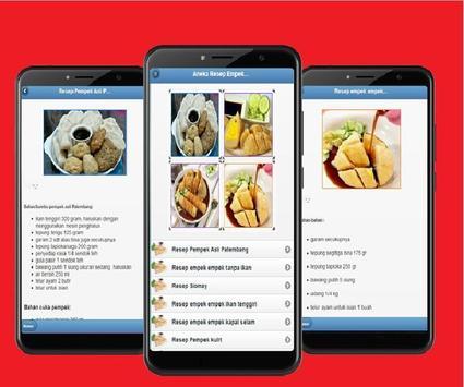 Various Recipes of Pempek Palembang screenshot 1