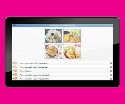 Various Recipes of Pempek Palembang screenshot 2