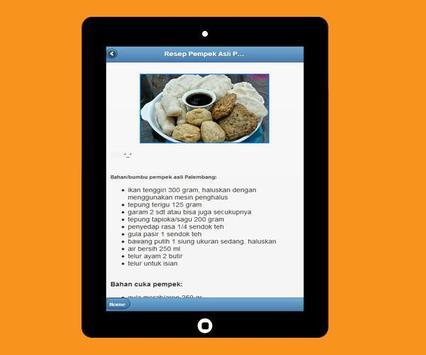Various Recipes of Pempek Palembang screenshot 3