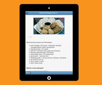 Various Recipes of Pempek Palembang screenshot 8