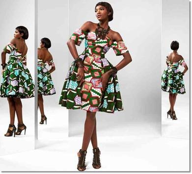 Ankara Inspired Style Outfit 2018 screenshot 10