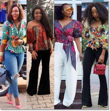 Ankara Inspired Style Outfit 2018 screenshot 5