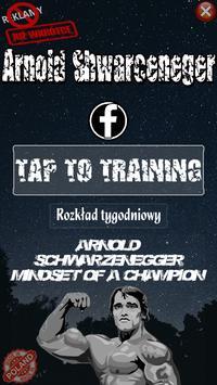 Arnold Schwarzenegger Trening poster