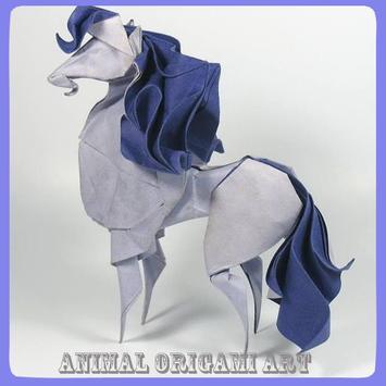 Animal Origami Art poster