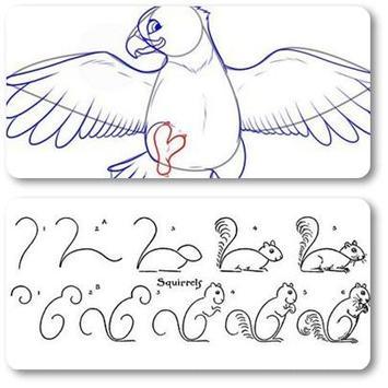 Animal Drawing Tutorial screenshot 1