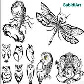 Animal Tattoo Designs icon