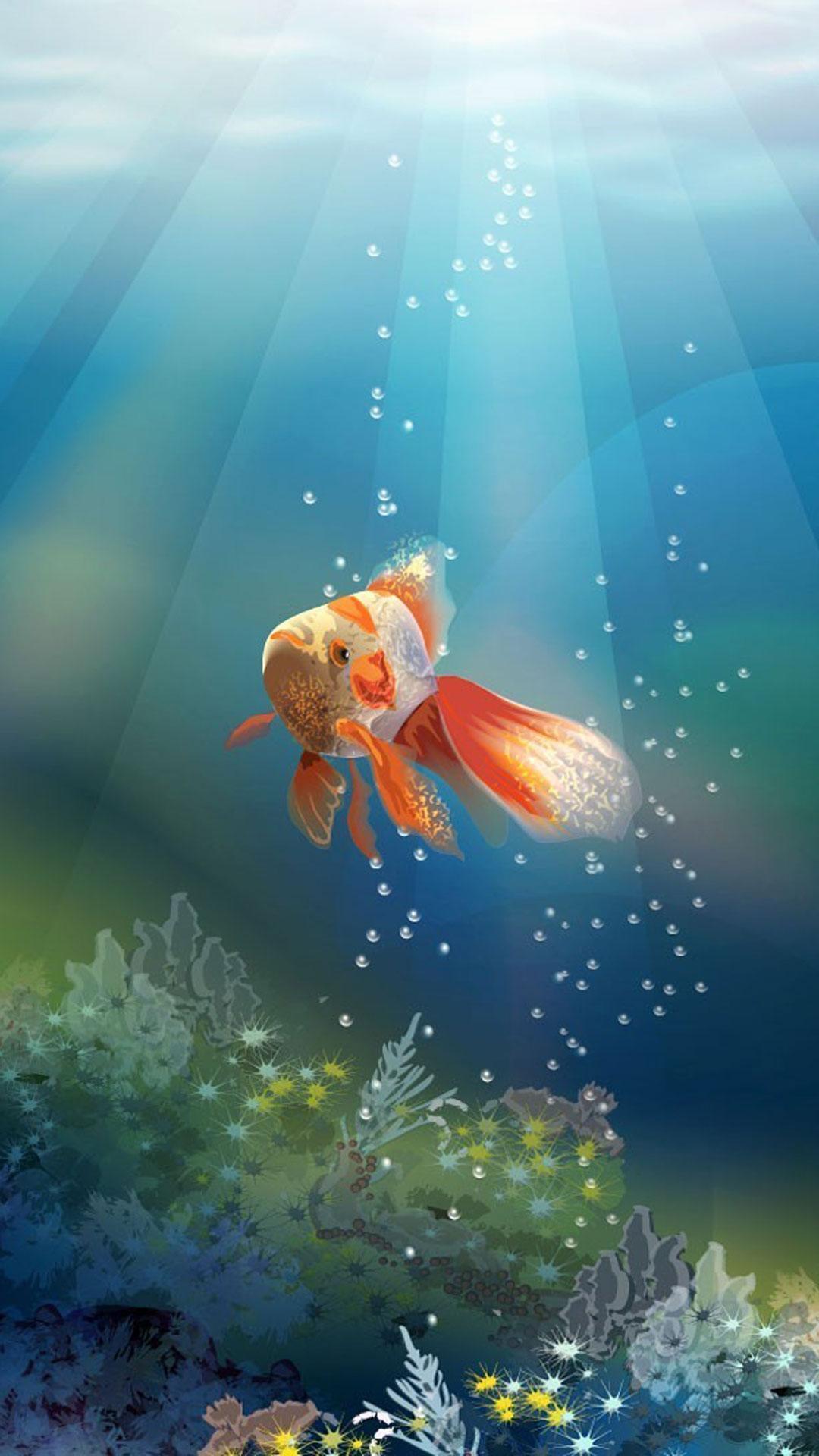 Android 用の 金魚 ライブ壁紙 Apk をダウンロード