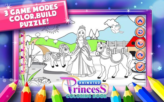 Princess Coloring Book Games Apk Screenshot