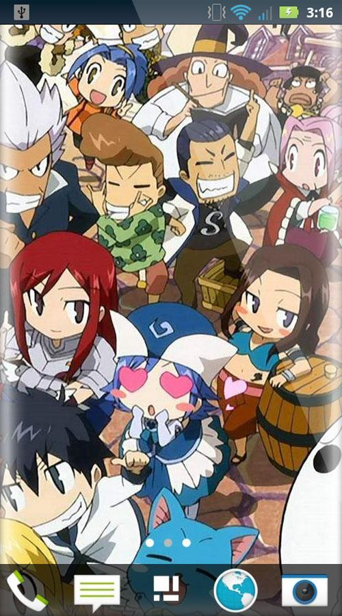 Fairy Tail Wallpaper Hd Anime Freewallpaperhd Für Android