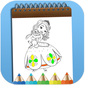How To Color Sofia The First Adult Game icon