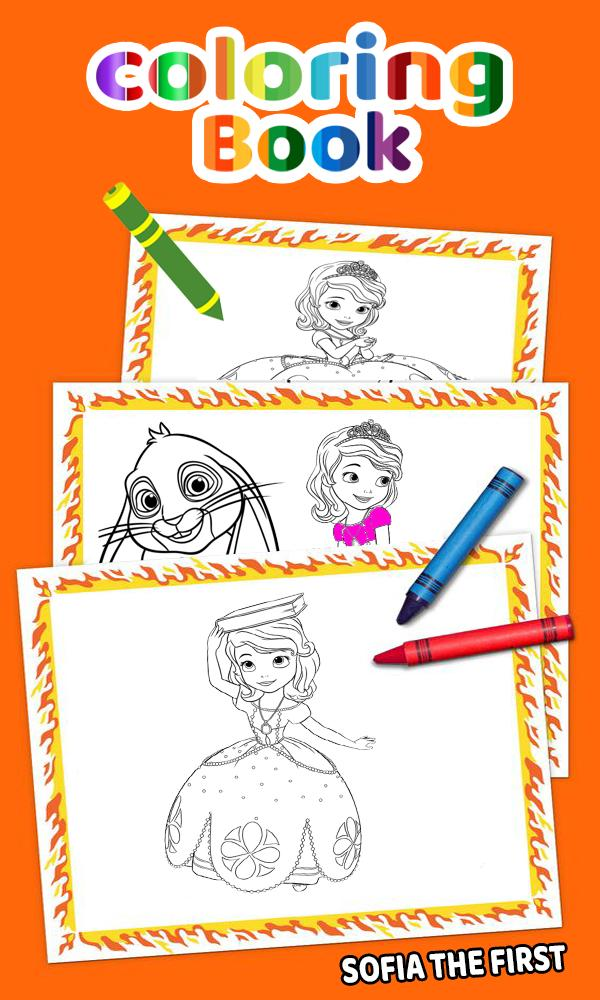 How To Color Sofia The First Adult Game poster