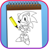 How To Color Sonic The Hedgehog Adult Game icon