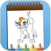 How To Color The Lion Guard Adult Game icon
