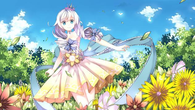 Anime Girl Wallpaper HD screenshot 7