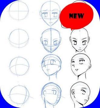 Anime Drawing Tutorial apk screenshot