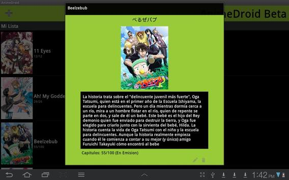 AnimeDroid Beta screenshot 2