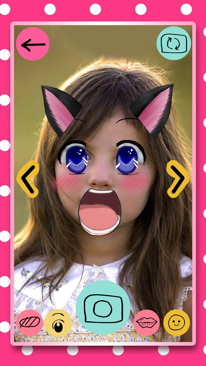 Anime Wajah Editor Foto For Android Apk Download