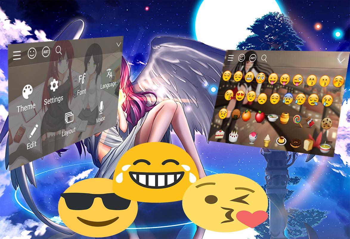 Anime Keyboard Themes Apk Screenshot