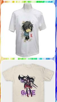 Anime T-Shirt Design apk screenshot