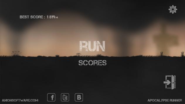 Apocalypse Runner Free poster