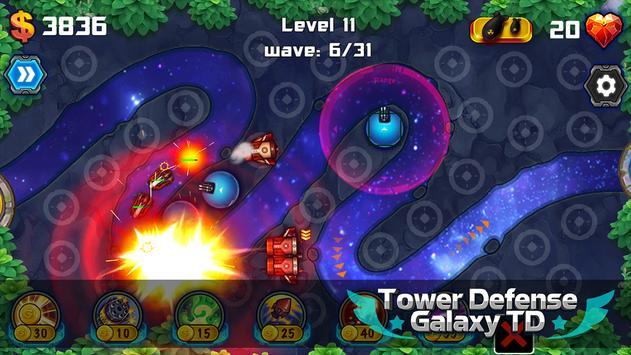 Tower Defense: Galaxy TD screenshot 7