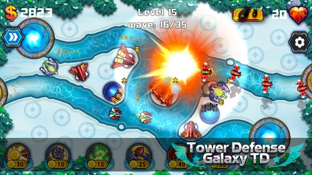 Tower Defense: Galaxy TD screenshot 10