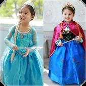 Anna And Elsa Dresses icon