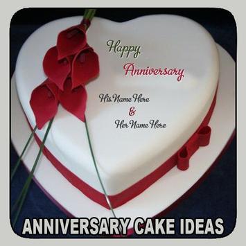 Anniversary Cake Ideas poster