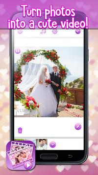Anniversary Photo Video Maker apk screenshot