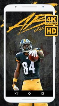 Antonio Brown Wallpapers HD 4K screenshot 2