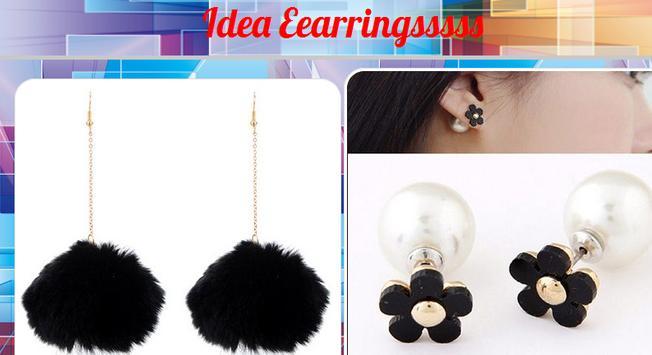Idea Earrings poster