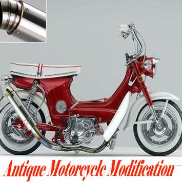 Antique Motorcycle Modification poster