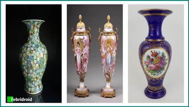 Antique Porcelain Vases poster