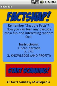 FactSnap apk screenshot