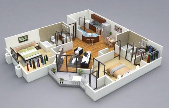 Apartment Sketch screenshot 2