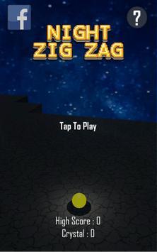Night Zig Zag poster