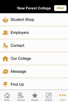 New Forest College apk screenshot
