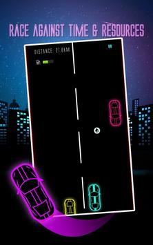 Car Racing Game 2017 Neon Glow screenshot 2