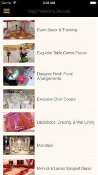 Magic Wedding Services apk screenshot