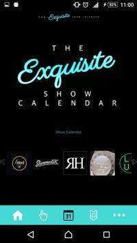 The Exquisite Show Calendar apk screenshot