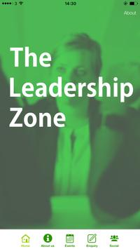 The Leadership Zone poster