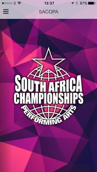 South Africa Championships poster