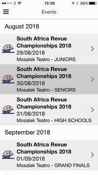 South Africa Championships screenshot 2