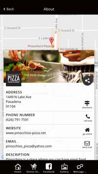 Pinocchios Pizza Pasadena apk screenshot