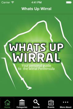 Whats Up Wirral poster